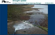 BW drought update 14th March 2012